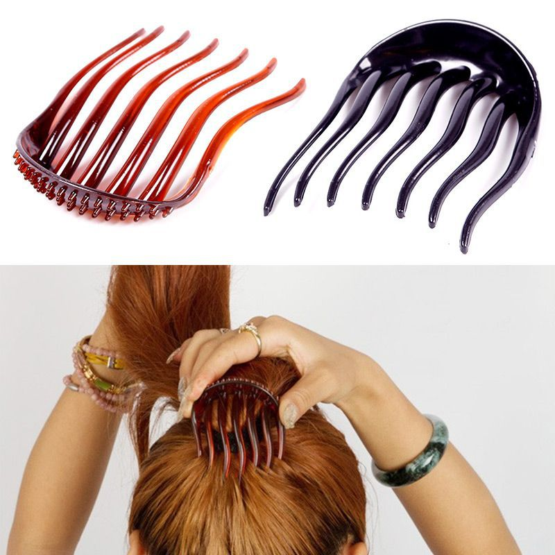 New Volume Inserts Hair Clip Curler Bumpits Bouffant Ponytail Hair Comb Bun Maker Styling Tools #66031(China (Mainland))