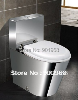 Hot sell Dual flushing home project bar hotel stainless steel 18/8 toilet bowl