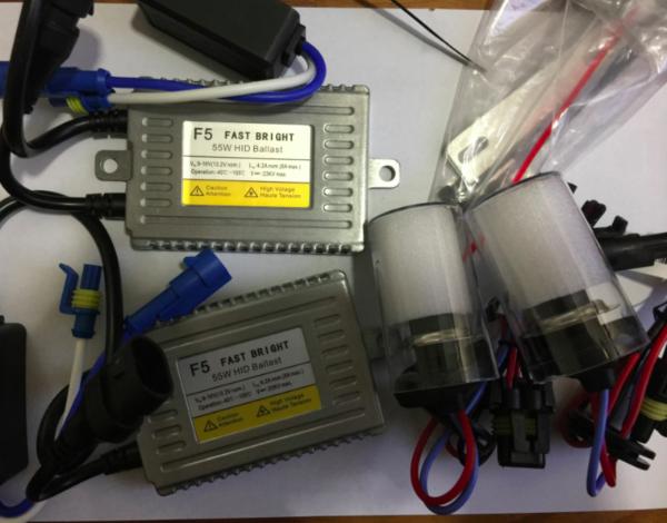 HID Xenon Kit DLT Ballast F5 Fast Bright 55W Ballast 35W CNLIGHT Car Headlamp Bulbs H1 H3 H7 H11 9012 9005 9006 d2h h7r d2s 880