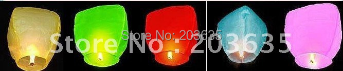 fire balloon sky lantern wishing lantern wishing light,20pcs/lot(China (Mainland))