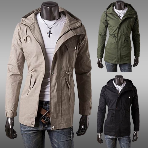 Military Style Winter Coats Slim Coat Military Style