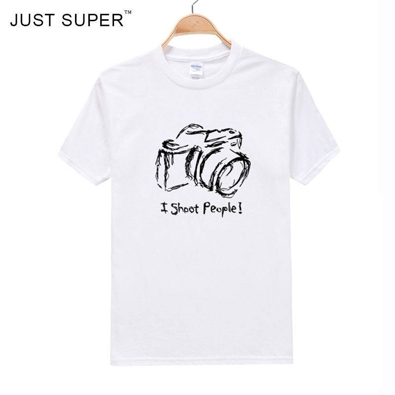 Photographer Hand-Painted T Shirt Men Swag Camisetas Deadpool Bozkurt Brand Clothing Skate Hipster Streetwear T-Shirts White(China (Mainland))
