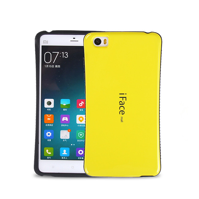 iFace Candy Color phone Back Cover cases Xiaomi Note 5.7 inc Shockproof case xiaomi - Ebayshop Electronic Co., Ltd store