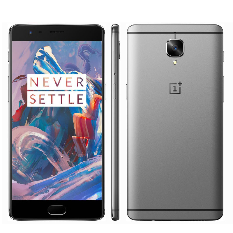 "Oneplus Three One Plus 3 6GB RAM 64GB ROM Smartphone 5.5"" FHD Android 6.0 Snapdragon 820 Quad Core 16.0MP Fingerprint NFC(China (Mainland))"
