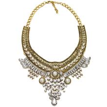 2015 New Fashion Design Bridal Jewelry Vintage Neck Bib Collar Chokers Statement Necklaces Pendants women Evening