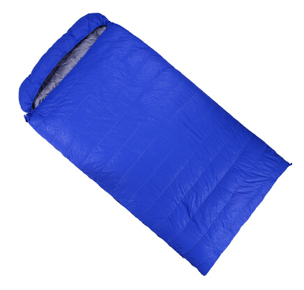 220*125 Plus Size fill 1500g  Envelope Double Sleeping Bag down duck large Outdoor Adult Four Seasons lunch warm quilt sleep<br><br>Aliexpress