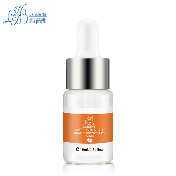 LANBENA Collagen Polypeptide Anti Wrinkles Ageless Eye Essence Cream Skin Care Eye Patch Mask To Face Fine Lines Dark Circles(China (Mainland))