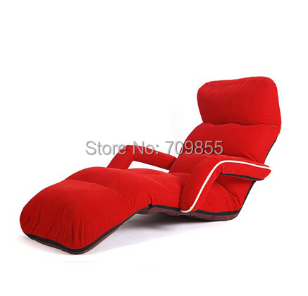 Bedroom Lounge Chairs : Chaise-Lounge-Chairs-for-Bedroom-Adjustable-Foldable-Soft-Suede ...