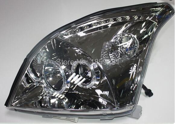 Prado headlight,LC120/FJ120 2700,4000,2003~2009,Free ship! Prado fog light,2ps/set+2pcs Ballast,Prado driver light