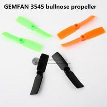 GF 3545 bullnose propellers ABS 2 blades for DIY mini race drones QAV130/180/QAV210/ML130-180/GE180/RD180 quadcopter