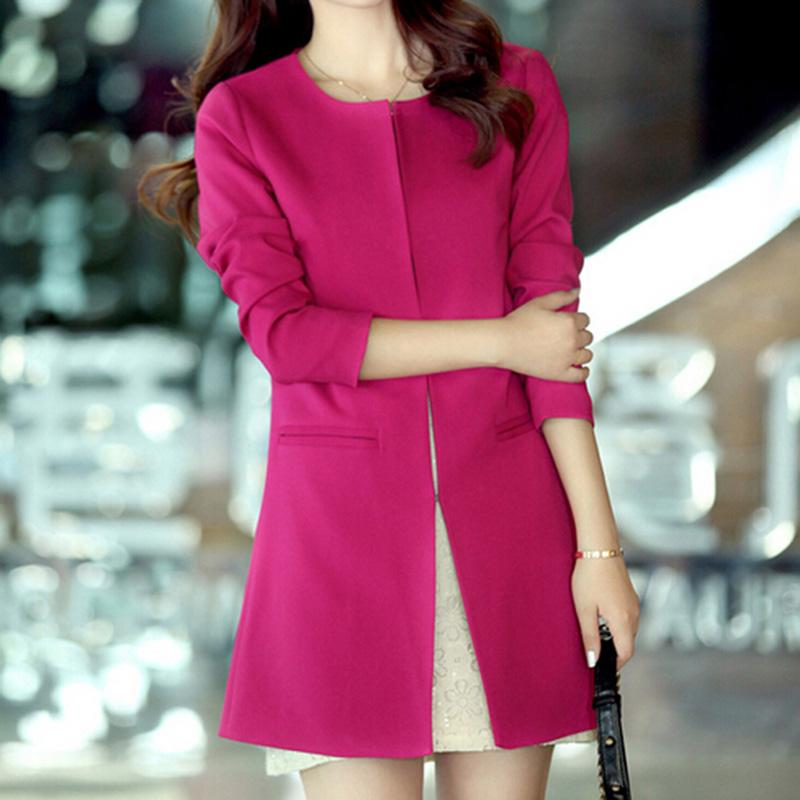 Hot Women Suit Blazer Jacket Casual Slim Long Sleeve Coat Outwear S/M/L/XL/XXLОдежда и ак�е��уары<br><br><br>Aliexpress