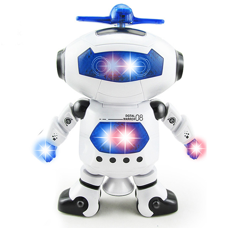 RC Robot Electric Smart Space Walking Dancing with Light Music Cool Astronaut Children Stunt action figure Toys for Boys Girls(China (Mainland))
