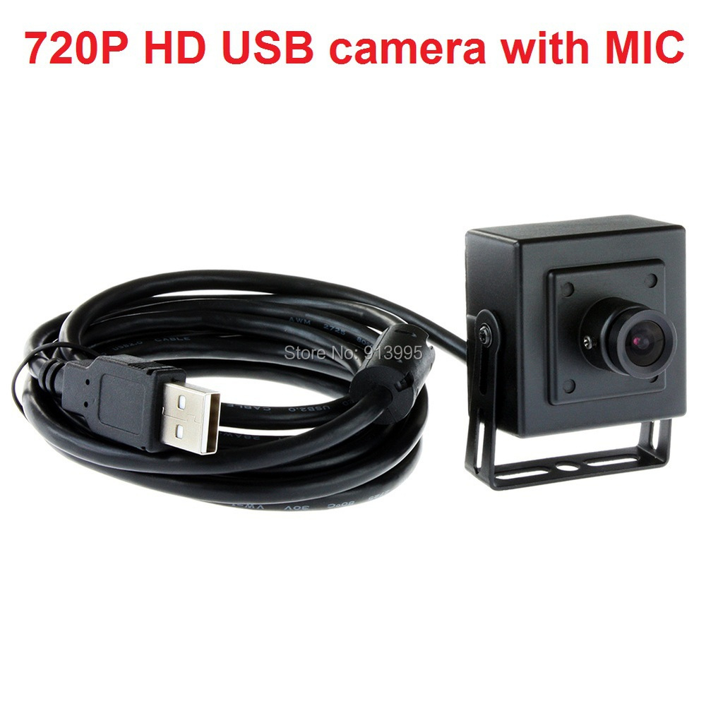 1.0megapixel 720p hd cmos ov9712 mini pc camera cctv with 8mm lens for home security ELP-USB100W05MT-BL80(China (Mainland))