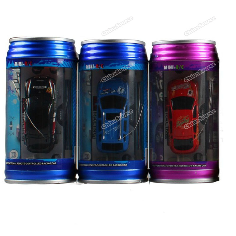 chinasource Currently! New Coke Can Mini Speed RC Radio Remote Control Micro Racing Car Toy Gifts #1 Promotion sale(China (Mainland))