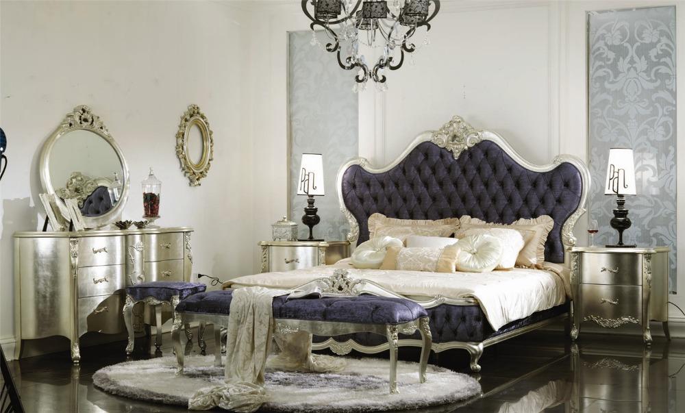 ... klassieke stijl slaapkamer set, romantische slaapkamer meubels 0402