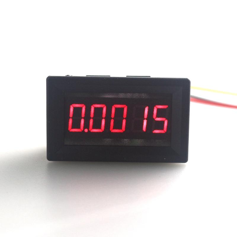 5 Digit 0.36 DC 0-33.000V high accuracy Digital Voltmeter Volt Voltage Panel Meter with Red Led display<br><br>Aliexpress