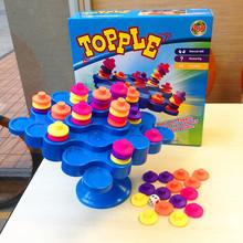 Новое поступление красочные topple башня дерево баланс взаимодействие штабелер настольную игру jenga сбалансированные елочные игрушки бесплатная доставка