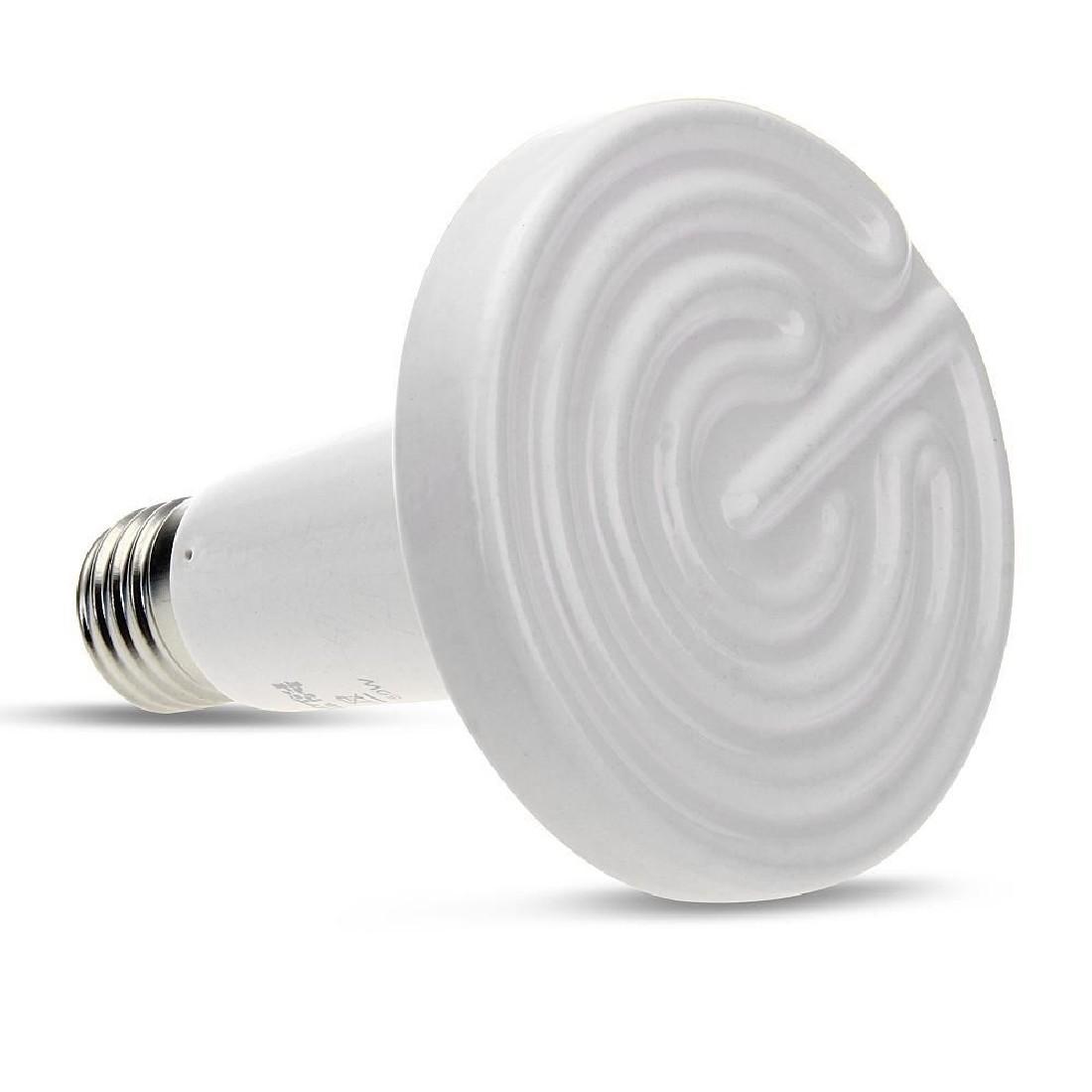New Free Shipping 75W 220V Ceramic Heat Emitter Brooder Infared Lamp Bulb Reptile Grow(China (Mainland))