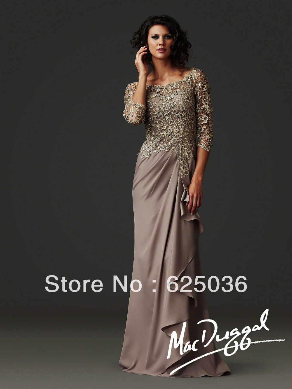 New elegant bride mother dress wedding party formal gown for Parents dress for wedding