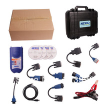NEXIQ 125032 USB Link + Software Diesel Truck Diagnose Interface and Software with All Installers(China (Mainland))