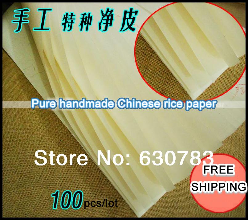 100 шт/много 64*134см ручной работы белая Китайская рисовая бумага рисовая бумага для живописи и декупажа