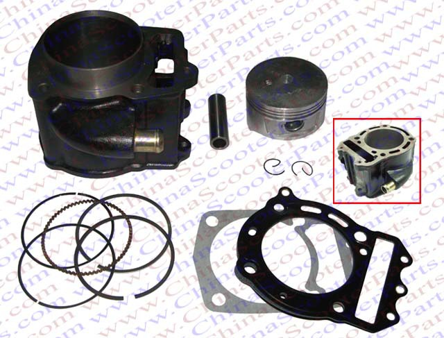72MM CYLINDER PISTON RING GASKET KIT font b GY6 b font 250CC ATV QUAD SCOOTER BUGGY