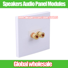 Buy 1pcs Speakers Audio Panel Modules / Audio Sockets Amplifier Adapters / Audio Wall Module 128-type for $5.90 in AliExpress store