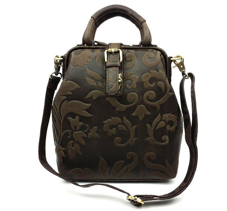 Luxury Brand Vintage Fashion Casual 100% Genuine Leather Cowhide Women Handbag Shoulder Bag Messenger Bag Backpack Bags Ladies