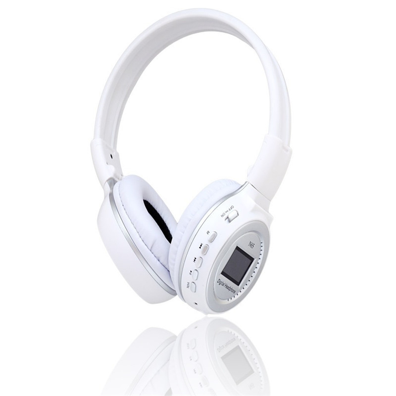 2016 New N65  Bluetooth 3.0 Headset Support MMC Card FM Radio 3.7V Music Player 1020mAh Rechargeable Battery