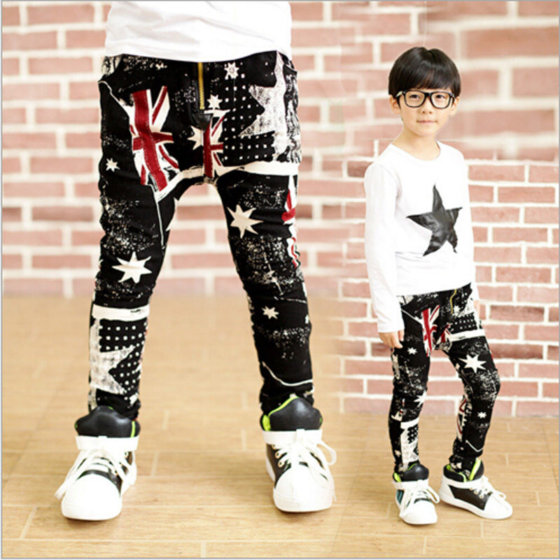 Boys pants Camouflage Harem pants 2016 Children Boys Casual Fashion Camouflage Pocket Pants For Army Design Colorful trousers(China (Mainland))