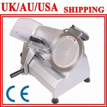 """10"""" FOOD&MEAT SLICER THE BLADE IS VERY EASY TO FIX CONFIRMS TO THE INTERNATIONAL SANITATION STANDARD"""