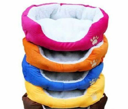 2014 Hot ! Colorful pet cat and dog beds and pink, orange, blue , yellow, brown , gray, green size M, L