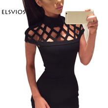 Buy 2017 Fashion Summer Women Dress Hollow Bodycon Dress Bandage Slim Nignt Club Party Dresses Sexy Dress Vestido De Festa for $7.89 in AliExpress store