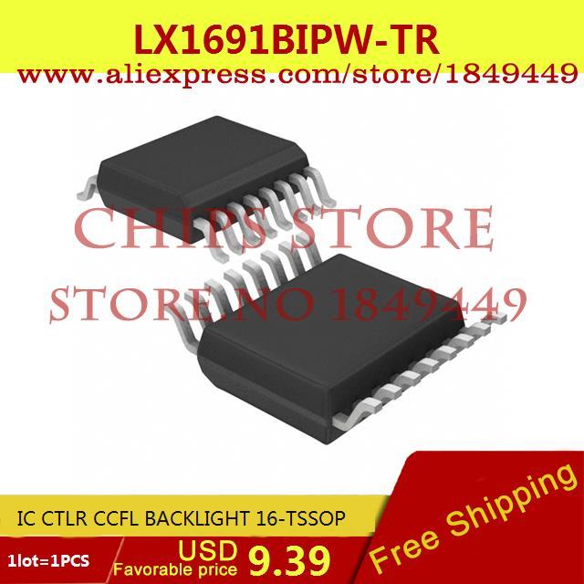 Free Shipping Integrated Circuits Types LX1691BIPW-TR IC CTLR CCFL BACKLIGHT 16-TSSOP 1691 LX1691 1pcs(China (Mainland))