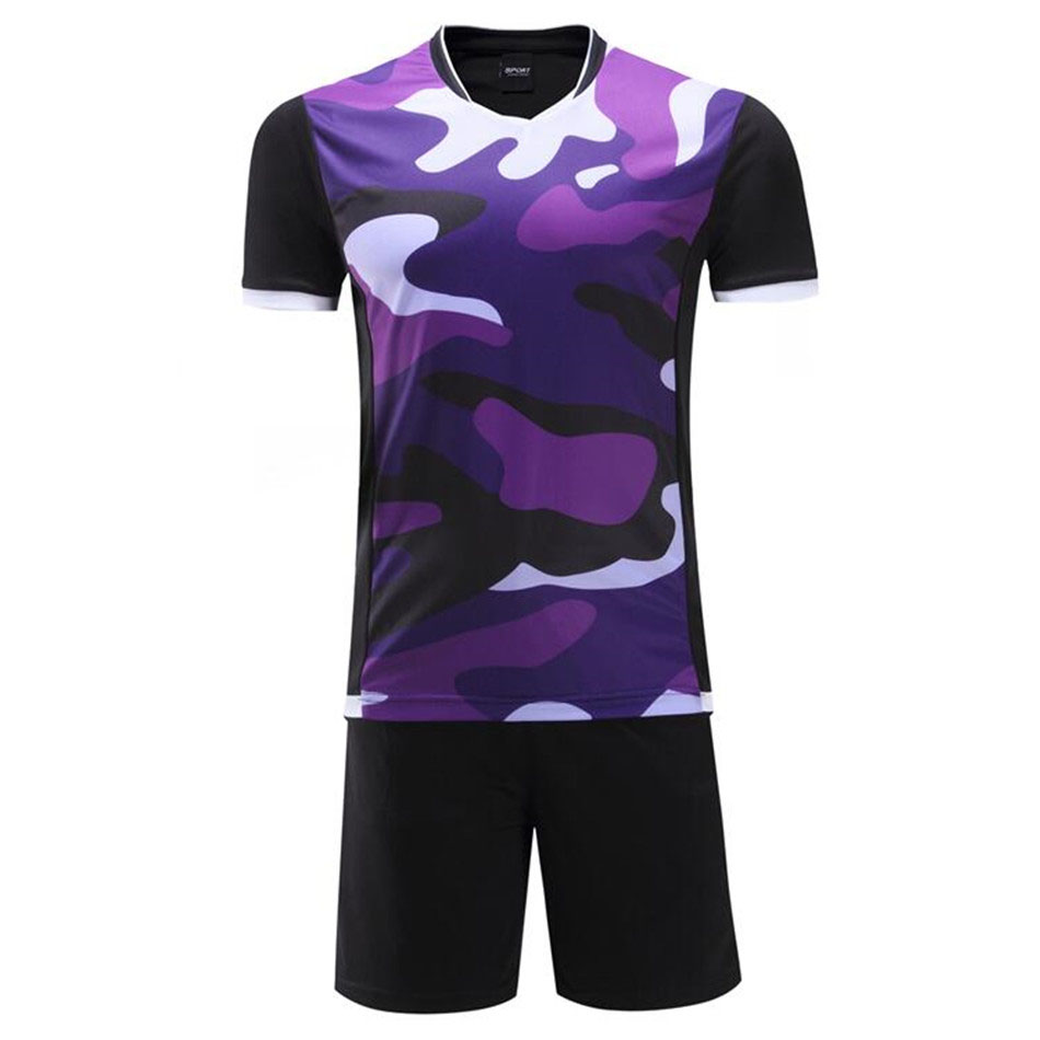Summer paintless football jerseys men boys soccer training suits football jerseys customization football kits costume uniforms(China (Mainland))