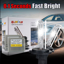 Buy Xenon H1 Super White Car Light Source Bulbs Headlights Auto Lamp Parking Cars H1 12V 35W 6000K for $38.00 in AliExpress store