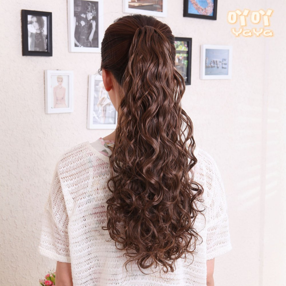 How to curly wear hair extensions fotos