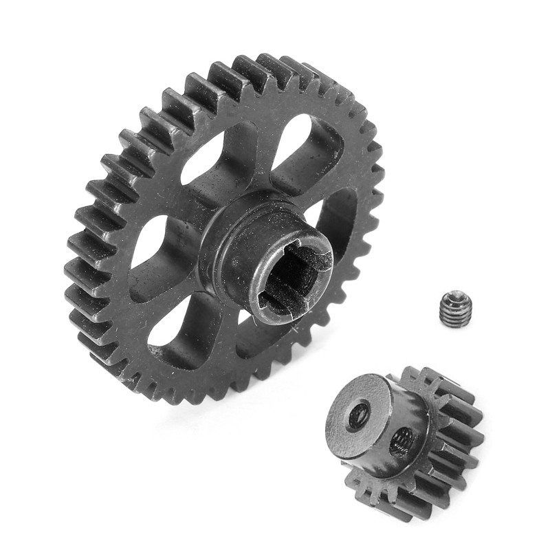 Upgrade Part Metal Reduction Gear + Motor Gear Spare Parts For Wltoys A949 A959 A969 A979 K929 RC Car Remote Control Toy Parts(China (Mainland))