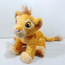 Original The Lion King Simba Plush Toy 35cm 14'' with Embroidery Cute Stuffed Animals Kids Toys for Boys Children Gifts(China (Mainland))