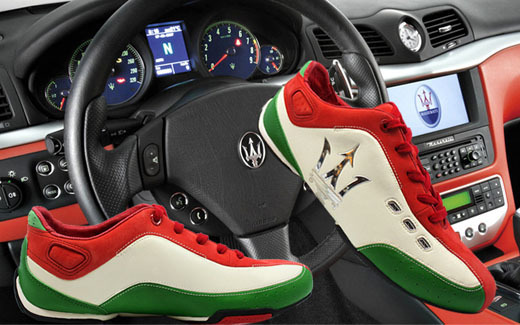 Italy 2015 MASERATI fashion Sneakers sneaker men Genuine Leather shoes sports shoes comfortable Racing shoes big