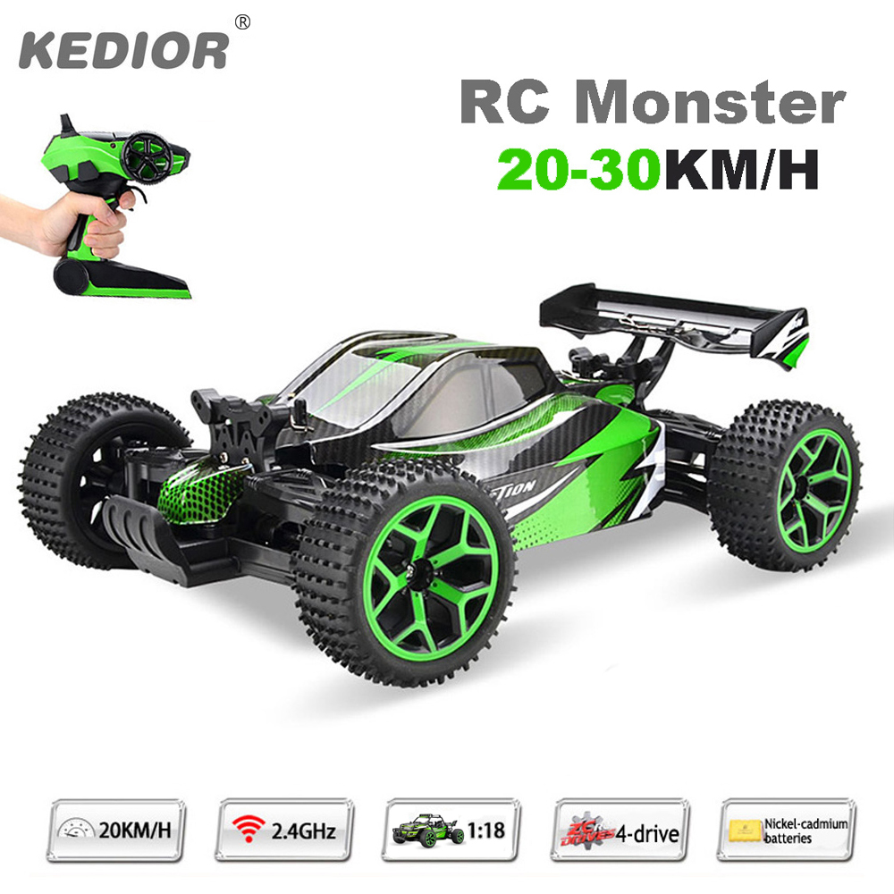 1:18 Remote Control Car Auto Radio Control 4wd RC Drift High Speed Model Toys with Rechargeable Battery VS WL A959(China (Mainland))