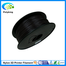 New Black color 3d printer filaments PA Nylon 1.75mm/3mm 1kg/2.2lb Plastics Resin Consumables For MakerBot RepRap UP Mendel
