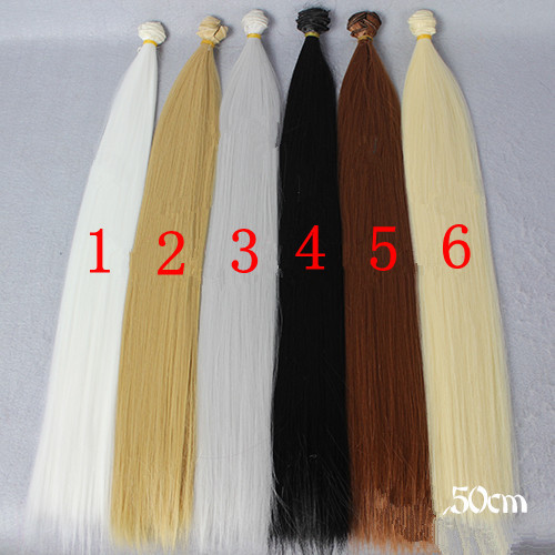 Super Long 50cm Length BJD SD Wigs Kurhn Doll Synthetic Fiber High-temperature Wire Wigs For Dolls DIY Free Shipping Wholesale<br><br>Aliexpress