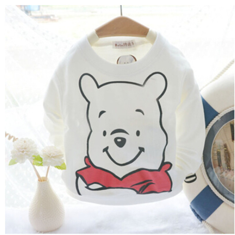 cheap baby clothing 2015 Spring Autumn baby t shirt toddler boy Long-sleeve Cartoon T-shirts Child 100% Cotton Basic tee shirt(China (Mainland))