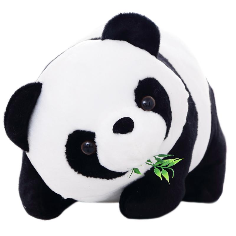 2015 New Kawaii Giant panda Plush Toy Doll Tare pillow Cloth Doll Girls Gift(China (Mainland))