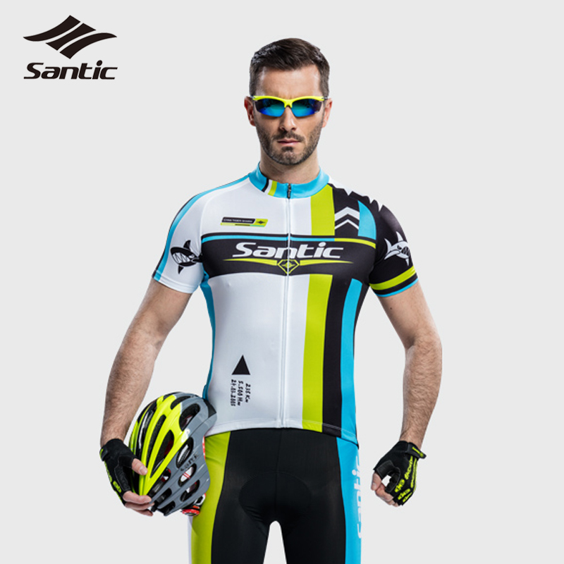 SANTIC Men XXXL Cycling Jersey + Cycling Shorts Clothing Sets Summer Style Bike Motocross Jersey Bicycle Tights Ropa Ciclismo<br><br>Aliexpress