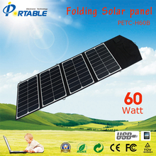 60W Sunpower High Efficiency Folding Solar Panel for Phone, Lap Top/Phone