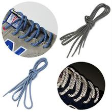 Round Rope Reflective Runner Running Sport Shoe Laces Shoelaces Shoestrings DIY(China (Mainland))