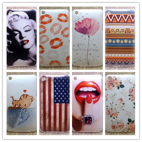 2016 New Luxury Case Painted Hard PC Plastic Phone Case Cover For Apple iPhone 3 3G 3GS Shell Back Cover(China (Mainland))