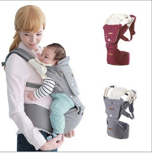 Ergonomic Baby Carrier Baby Sling Wrap Carriage Hipseat Newborn Sling Backpack Kid Sling Backpack Pouch For Baby Infant Carrier(China (Mainland))